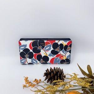 Kate Spade Cameron Breezy Floral Large Slim Wallet